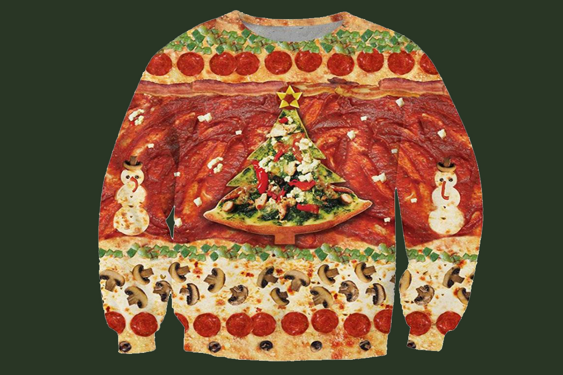 Food Themed Ugly Christmas Sweaters For All Your Holiday Get