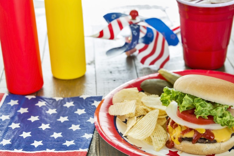 Fourth of July spending takes a dip because of 'Hump Day'