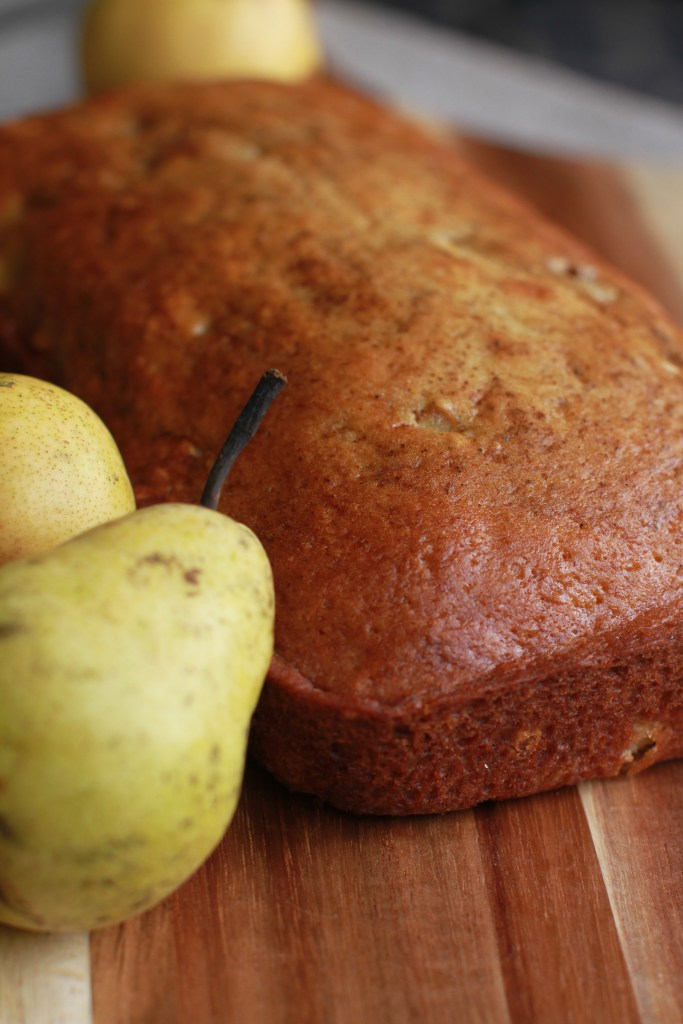 Ginger Pear Bread Recipe2