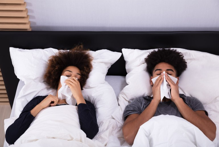 Here's how long you're contagious with the flu virus