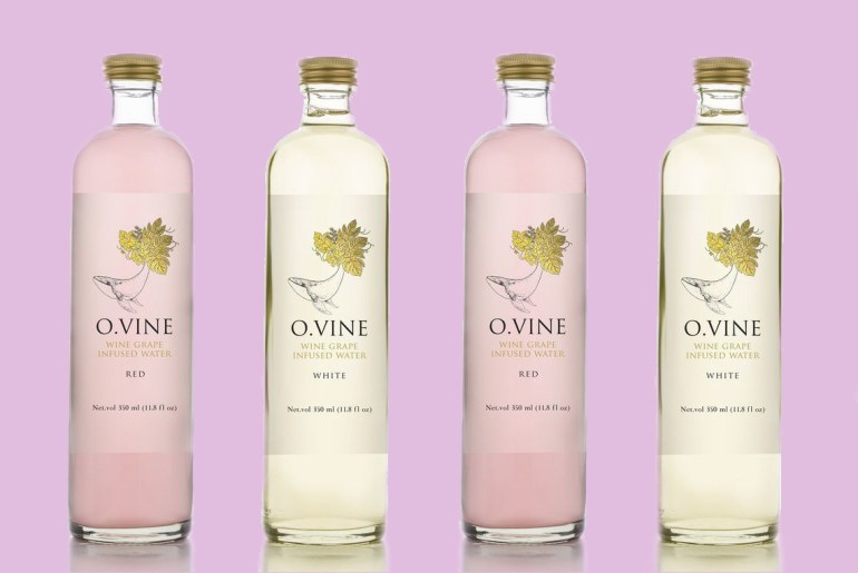 New Wine Water has all the taste without the alcohol