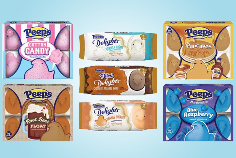 Peeps debuts 7 new fun flavors for Easter, including cotton candy