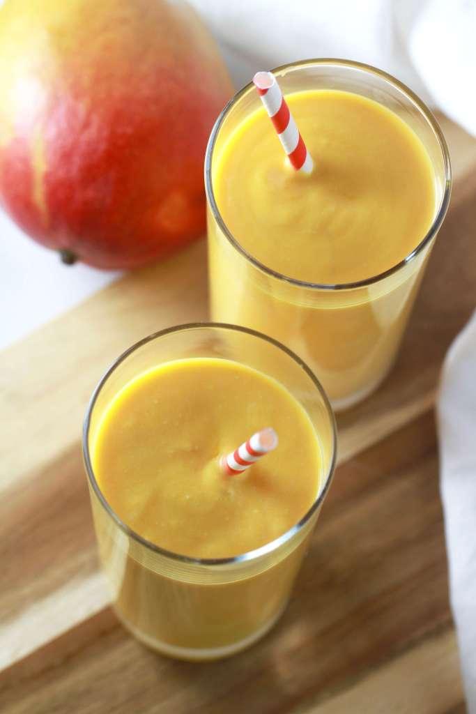 Quick and easy Indian mango lassi recipe_4