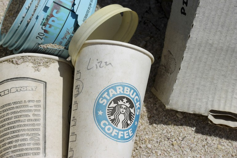 Starbucks offering $10 million to development of eco-friendly cup