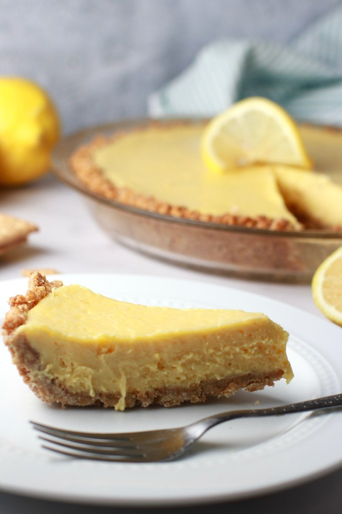 Sweet and tart Southern lemon icebox pie