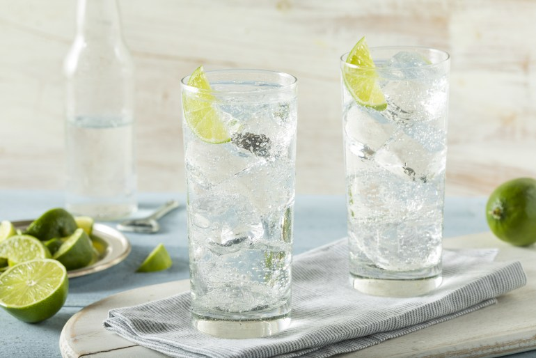 The difference between sparkling water, seltzer water, club soda and tonic water