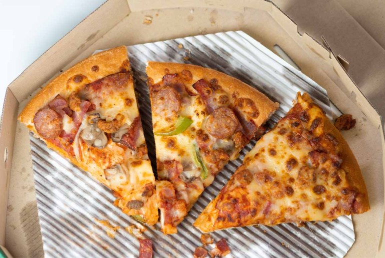 The very best way to reheat leftover pizza