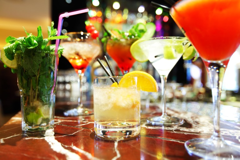 These are the most popular cocktails in America throughout the day, study shows