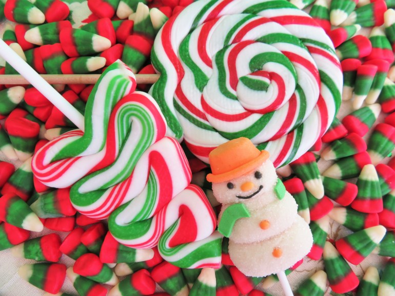 What's the most popular Christmas candy in each state?
