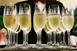 Why you shouldn't drink champagne out of plastic cups
