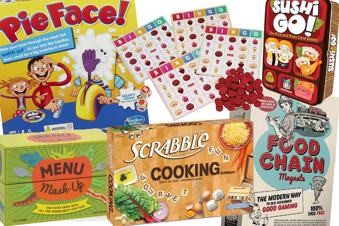 Food Themed Board Games Perfect For Cooler Days Indoors