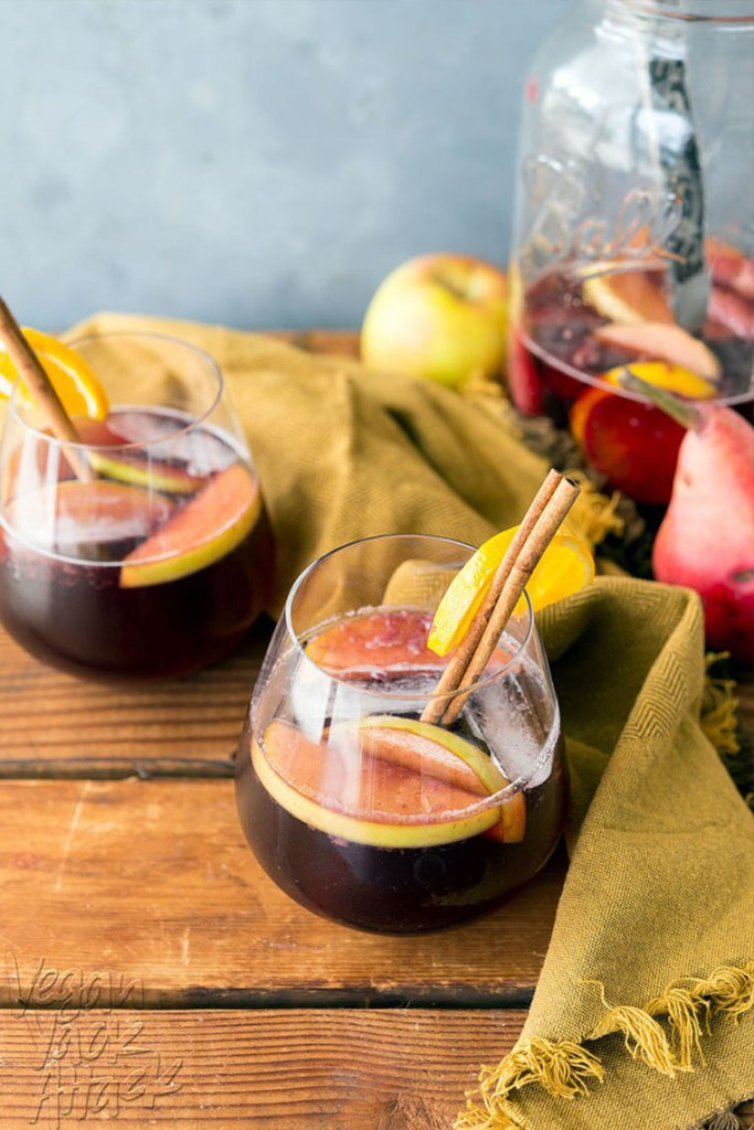 spiced wine sangria