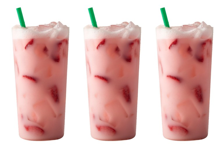 Starbucks 'Pink Drink' Goes public for summer 2017 by Everybody Craves