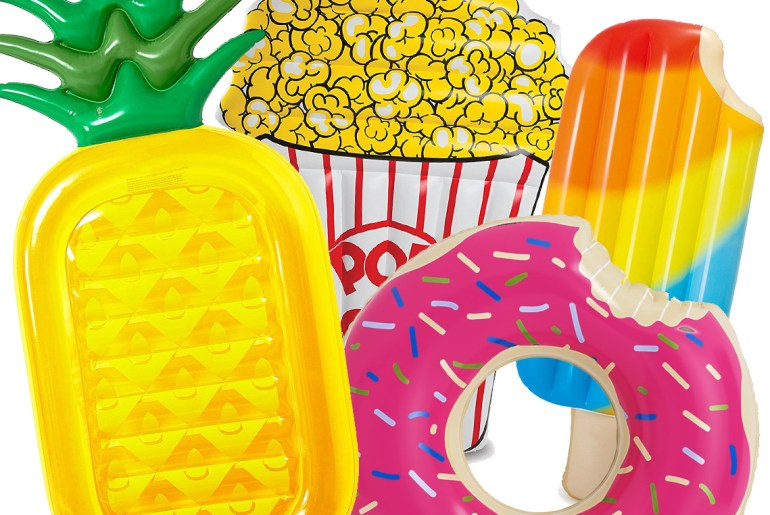 summer pool floats for food lovers by everybody craves