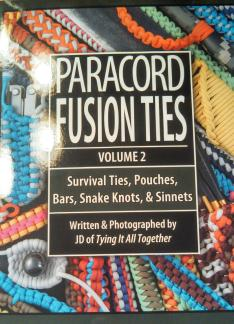 paracord book