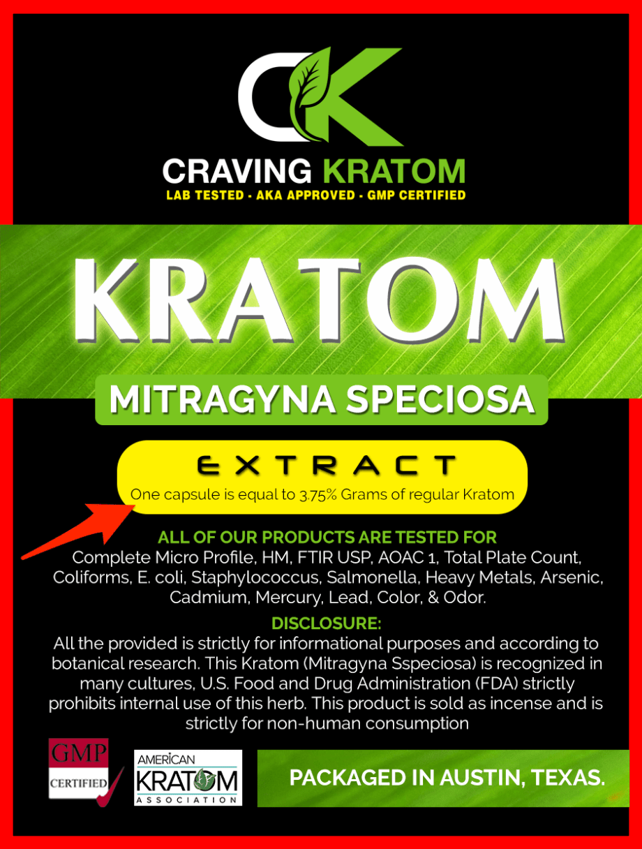 Kratom Extract Tablets