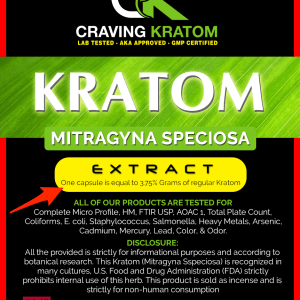 Kratom Extract Tablets