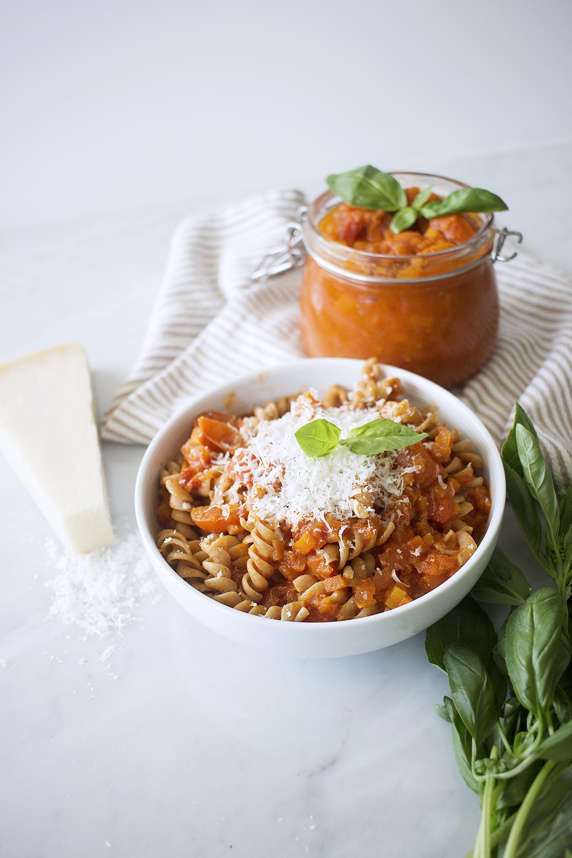 My go-to tomato sauce recipe