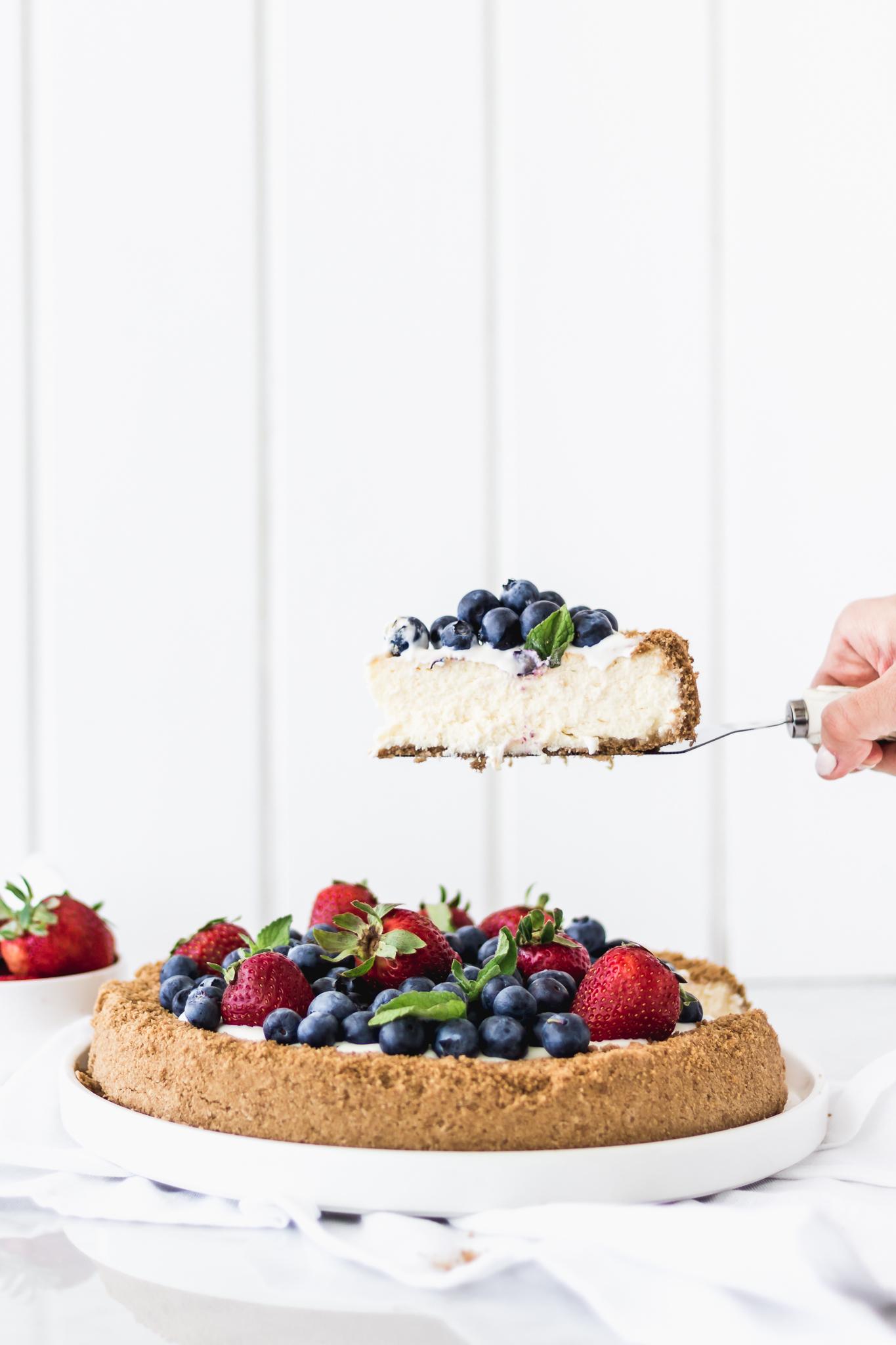 The Ultimate Vanilla Cheesecake