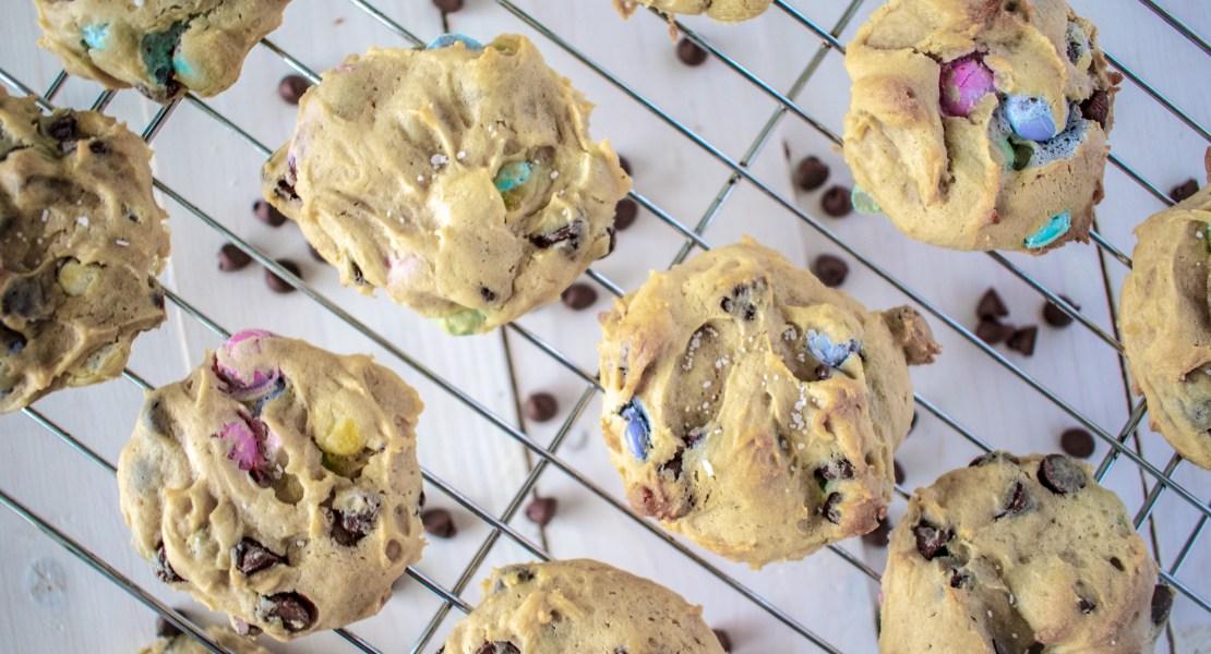 chocolate chunk cheesecake cookies