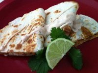 Chicken Quesadillas With Mango Chipotle