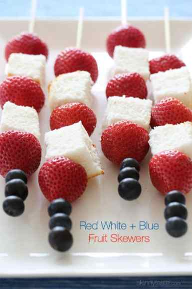 http://www.skinnytaste.com/2013/05/red-white-and-blue-fruit-skewers-with.html