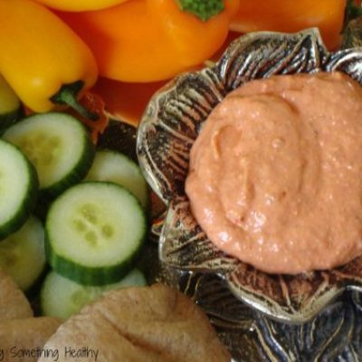 Counting Calcium- Roasted Red Pepper and Sun Dried Tomato Dip