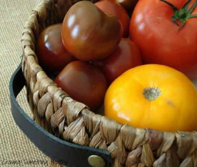 Tomatoes|Craving Something Healthy