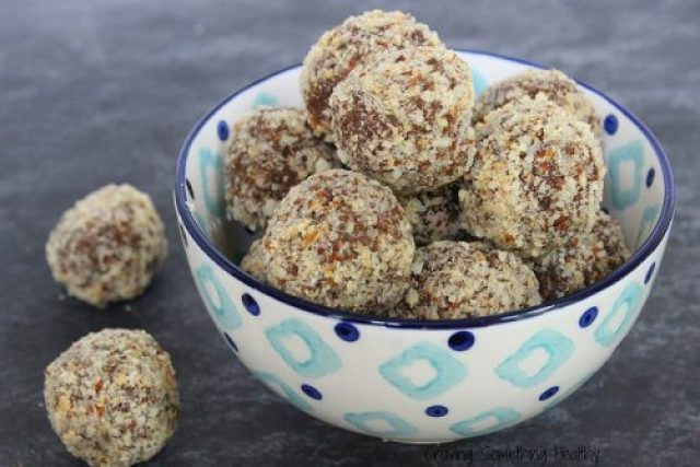 Apricot Almond Truffles|Craving Something Healthy