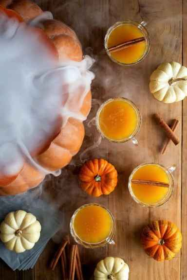 Halloween Pumpkin Punch|Honestly Yum