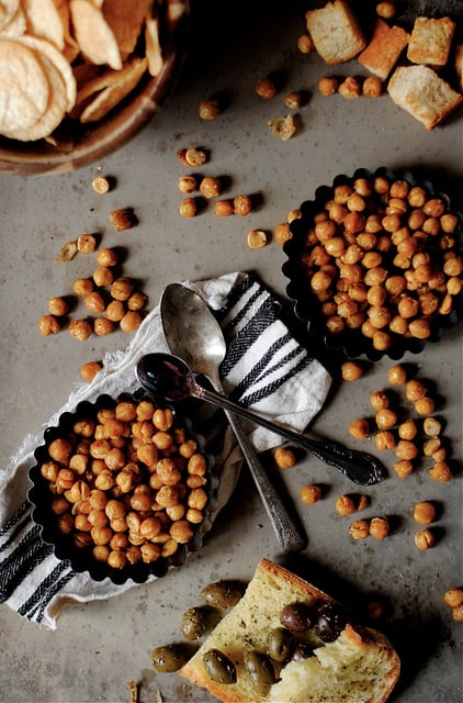 Spicy Oven Roasted Chickpeas How to Simplify