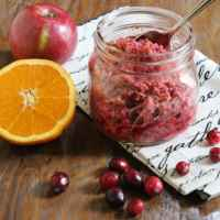 Chopped Cranberry Relish|Craving Something Healthy