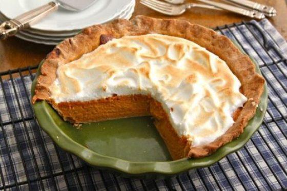 Pumpkin Meringue Pie The Corner Kitchen