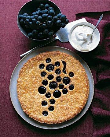 Concord Grape Jam Tart Martha Stewart