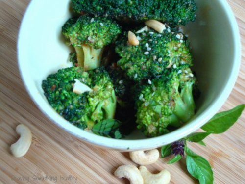 Spicy Broccoli with Peanut Sauce|Craving Something Healthy