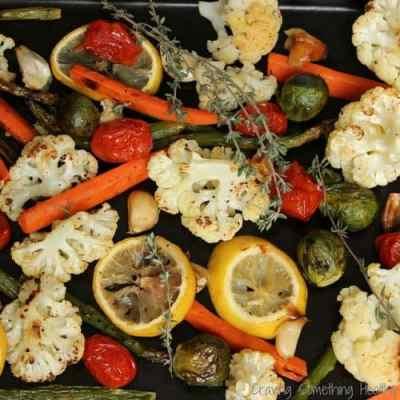 Lemon Thyme Roasted Vegetables