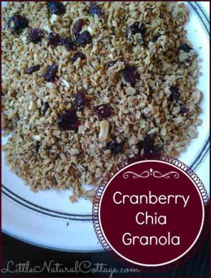 Crunchy Chia Granola|Bulk Herb Store