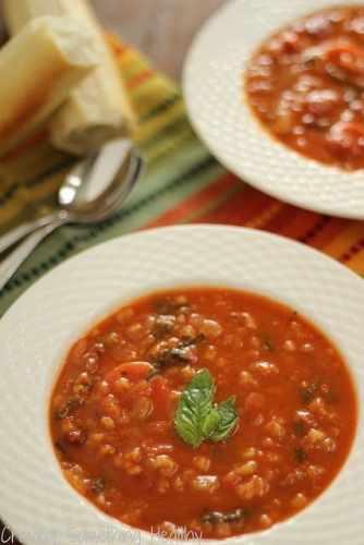Pasta e Fagioli|Craving Something Healthy