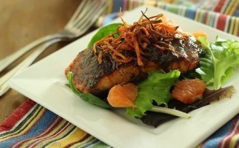 Sweet Chipotle Grilled Salmon|Craving Something Healthy