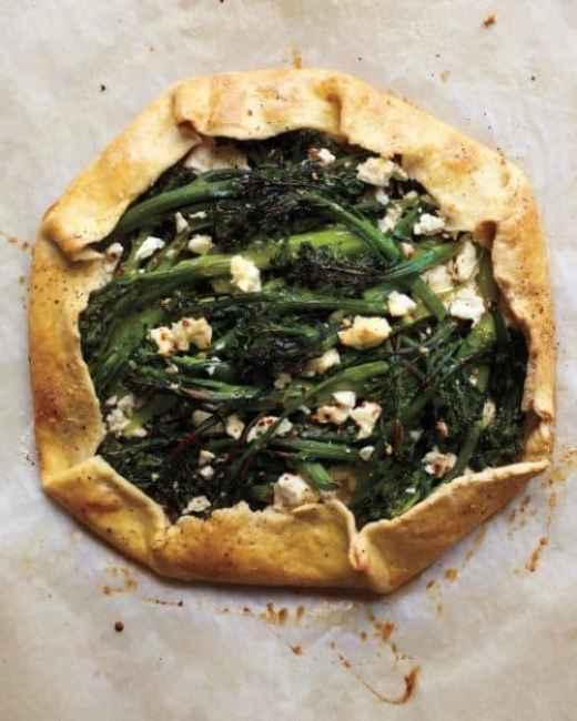 Broccolini and Feta Galette|Martha Stewart