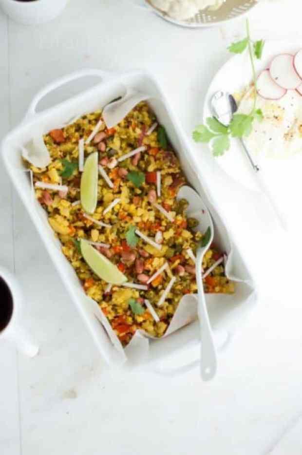 Cauliflower Fried Rice|Kirin Tarun
