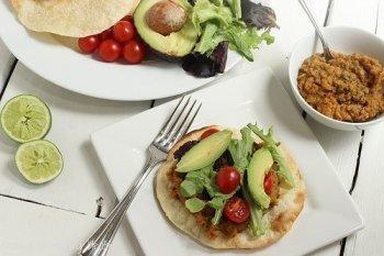 Chipotle Lentil Tostadas|Craving Something Healthy