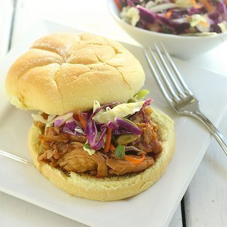 Cranberry-Asian BBQ Chicken Sandwiches