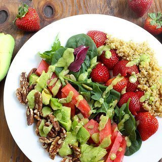 California Power Salad {Meatless Monday}
