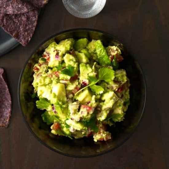 Chunky Guacamole|Food and Wine