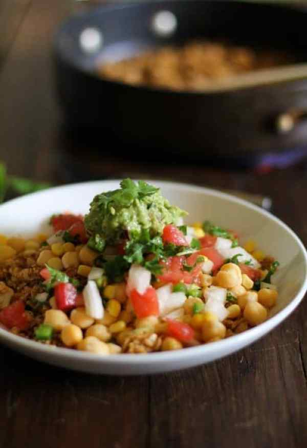 Cauliflower Rice Burrito Bowls|The Roasted Root