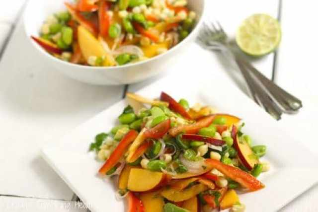 Summer Harvest Ceviche Craving Something Healthy