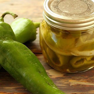 Pickled Hatch Chiles & Sweet Onions