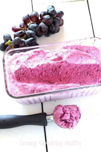 Just Black Grapes Sorbet|Craving Something Healthy