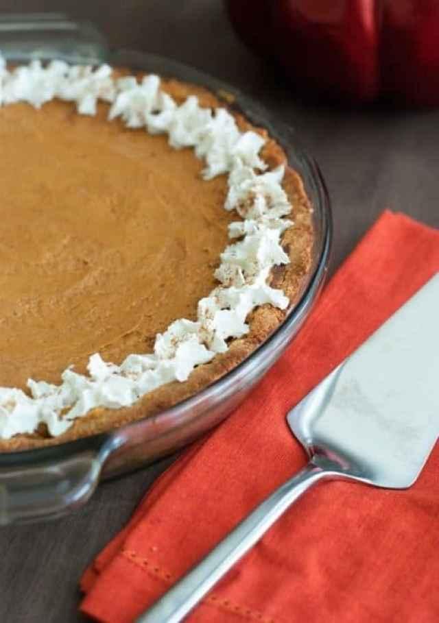 Low Carb Pumpkin Pie|The Low Carb Diet